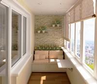 качественная обшивка балконов в Сургуте МДФ